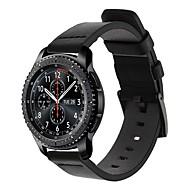 Недорогие Аксессуары для смарт-часов-Ремешок для часов для Gear S3 Frontier / Gear S3 Classic Samsung Galaxy Спортивный ремешок / Классическая застежка Кожа Повязка на запястье