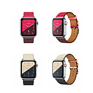 Watch Band for Apple Watch Series 4 / Apple Watch Series 4/3/2/1 Apple Classic Buckle Genuine Leather Wrist Strap