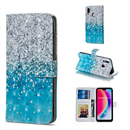 preiswerte Handyhüllen-Hülle Für Huawei P20 Pro / P20 lite Geldbeutel / Kreditkartenfächer / mit Halterung Ganzkörper-Gehäuse Farbverläufe Hart PU-Leder für Huawei P20 Pro / Huawei P20 lite / P10 Lite