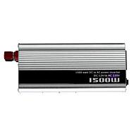 cheap Vehicle Power Inverter-1500W DC 12V to AC 220V Power Inverter - Silver