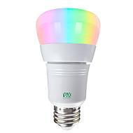 お買い得  LED ボール型電球-YWXLIGHT® 1個 7 W 600-700 lm E26 / E27 LEDボール型電球 / LEDスマート電球 14 LEDビーズ SMD 5730 Smart / APPコントロール / 調光可能 RGBW / RGBWW 85-265 V