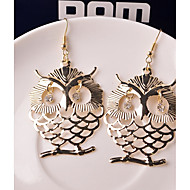 cheap -1 Pair Women's Classic Drop Earrings - Owl Classic Jewelry Gold For Causal