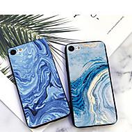 Недорогие Кейсы для iPhone 8 Plus-Кейс для Назначение Apple iPhone XS / iPhone XR С узором Кейс на заднюю панель Камуфляж / Мрамор Мягкий ТПУ для iPhone XS / iPhone XR / iPhone XS Max
