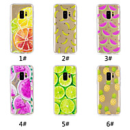 cheap -Case For Samsung Galaxy S9 Plus / S9 Pattern Back Cover Fruit Soft TPU for S9 / S9 Plus / S8 Plus