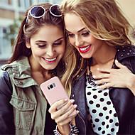 Недорогие Чехлы и кейсы для Galaxy S7 Edge-Кейс для Назначение SSamsung Galaxy Galaxy S10 / Galaxy S10 Plus Матовое Кейс на заднюю панель Однотонный Мягкий силикагель для S9 / S9 Plus / S8 Plus