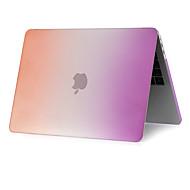 tanie -Etui na MacBook Przejście kolorów Plastik / ABS na MacBook Air 13 cali