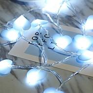 voordelige -1m Verlichtingsslingers 10 LEDs Blauw Feest 5 V 1 set