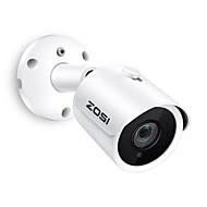 billige -zosi® ip kamera poe 4mp super hd udendørs / indendørs vandtæt infrarød nattesyn onvif sikkerhed videoovervågning
