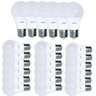 voordelige -EXUP® 24pcs 5 W 450 lm E26 / E27 LED-bollampen 15 LED-kralen SMD 2835 Creatief / Aanbiddelijk / Cool Warm wit 85-265 V