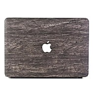 """זול -MacBook נרתיק סיבי עץ PVC ל מקבוק פרו13אינץ'עם תצוגת רטינה / מקבוק אייר13אינץ' / New MacBook Air 13"""" 2018"""