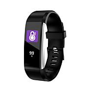 tanie -Indear 115PRO Inteligentne Bransoletka Android iOS Bluetooth Smart Sport Wodoodporny Pulsometry Pomiar ciśnienia krwi Krokomierz Powiadamianie o połączeniu telefonicznym Rejestrator snu siedzący