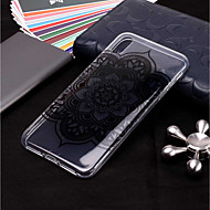 Case For Apple iPhone XR / iPhone XS Max Transparent / Pattern Back Cover Mandala Soft TPU for iPhone XS / iPhone XR / iPhone XS Max