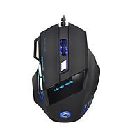 LITBest A868 USB com fio Mouse para Jogos / Mouse de Escritório Luz LED 5500 dpi 7 pcs Chaves 7 teclas programáveis