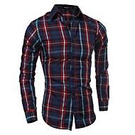 cheap -Men's Business / Basic Shirt - Check