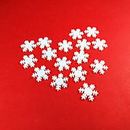 hesapli -Tatil Süslemeleri Yeni Yıl'ınkiler / Noel Dekorayonu Noel / Noel Süsler Dekorotif / Düğün Beyaz 100pcs