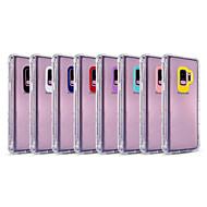Недорогие Чехлы и кейсы для Galaxy S9-Кейс для Назначение SSamsung Galaxy S9 Plus / S8 Plus Защита от удара / Прозрачный Кейс на заднюю панель Однотонный Мягкий ТПУ для S9 / S9 Plus / S8 Plus
