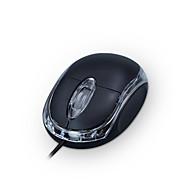 levne -Factory OEM Drátový USB Silent myš 3 pcs klíče Vedly dýchací světlo 2 nastavitelné úrovně DPI 1000 dpi