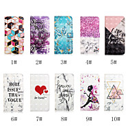 cheap Galaxy S Series Cases / Covers-Case For Samsung Galaxy S9 Plus / S8 Plus Wallet / Card Holder / with Stand Full Body Cases Word / Phrase / Butterfly / Heart Hard PU Leather for S9 / S9 Plus / S8 Plus