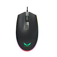 お買い得  マウス-OEM 有線USB ゲーミングマウス / オフィスマウス S900 キー LEDライト 3調整可能なDPIレベル 3つのプログラム可能なキー 1600 dpi