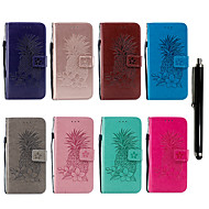 Kılıf Na Samsung Galaxy Note 9 Portfel / Etui na karty / Z podpórką Pełne etui Owoc / Kwiat Twardość Skóra PU na Note 9