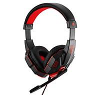 זול -LITBest רצועת ראש כבל אוזניות אוזניות מעטפת פלסטיק גיימינג אֹזְנִיָה עיצוב חדש / סטריאו אוזניות