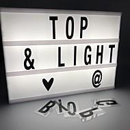 Χαμηλού Κόστους -1pc LED νύχτα φως Ψυχρό Λευκό Μπαταρίες AA Powered Δημιουργικό <=36 V