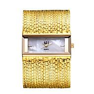 저렴한 -ASJ 여성용 드레스 시계 일본 쿼츠 구리 실버 / 골드 캐쥬얼 시계 아날로그 사치 우아함 - 실버 / 블랙 은빛 / 화이트 화이트 / 골드 1 년 배터리 수명 / SSUO SR626SW + CR2025