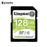 billiga -Kingston 128GB SD Kort minneskort class10