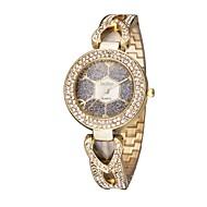저렴한 -ASJ 여성용 팔찌 시계 일본어 일본 쿼츠 그린 / 골드 / 로즈 골드 캐쥬얼 시계 아날로그 빈티지 캐쥬얼 - 골드 실버 로즈 골드 1 년 배터리 수명 / SSUO SR626SW + CR2025