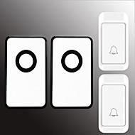 رخيصةأون -لاسلكي اثنين إلى اثنين من الجرس موسيقى / دينغ دونغ جرس الباب غير المرئية في السطح