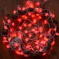 Χαμηλού Κόστους -10 ίντσες Φώτα σε Κορδόνι 100 LEDs Κόκκινο Διακοσμητικό 220-240 V 1set