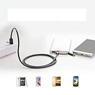 저렴한 -마이크로의 USB / 유형 -C USB 케이블 어댑터 1에서 2 / 빠른 청구 케이블 제품 삼성 / Huawei / Xiaomi 100 cm 제품 TPE