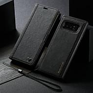 ราคาถูก -WHATIF Case สำหรับ Samsung Galaxy Note 8 Wallet / with Stand / Flip ตัวกระเป๋าเต็ม สีพื้น Hard หนัง PU สำหรับ Note 8
