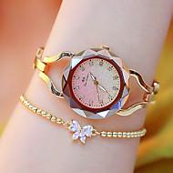 cheap -Women's Wrist Watch Japanese Quartz Silver / Gold / Rose Gold New Design Luminous Casual Watch Analog Casual Fashion - Gold Silver Rose Gold Two Years Battery Life / Imitation Diamond
