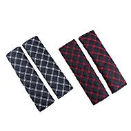 رخيصةأون -غطاء حزام الأمان حزام المقعد أبيض / أحمر تقليد الجلد الأعمال التجارية من أجل عالمي كل السنوات