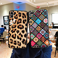 Etui Til Apple iPhone XR / iPhone XS Max Mønster Bagcover Leopardtryk / Blomst Blødt silica Gel for iPhone XS / iPhone XR / iPhone XS Max