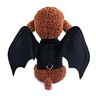 economico -Prodotti per cani Costumi Decorazioni Abbigliamento per cani Animali Personaggio Con perline Nero Nero Tessuto Costume Per Corgi Beagle Bulldog Per tutte le stagioni Per maschio Per femmina Party