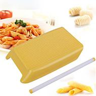 cheap -1pc Plastic Multi-function DIY Noodles Rectangular Rolling Pin Pasta Tools Bakeware tools