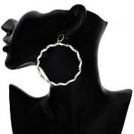 Χαμηλού Κόστους -Γυναικεία Σκουλαρίκι Σκουλαρίκια Κοσμήματα Χρυσό / Ασημί Για Γενέθλια Δώρο Καθημερινά Ημερομηνία Φεστιβάλ 1 Pair