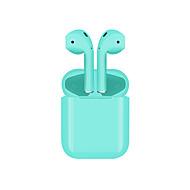 tanie -bestsin Mi12 Douszny Bezprzewodowy Słuchawki Słuchawka Plasikowa obudowa EARBUD Słuchawka Nowoczesne / Stereo / z mikrofonem Zestaw słuchawkowy