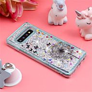 cheap -Case For Samsung Galaxy Galaxy S10 Plus / Galaxy S10 E Shockproof / Flowing Liquid / Pattern Back Cover Glitter Shine / Dandelion Soft TPU for S9 / S9 Plus / S8 Plus