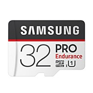 abordables -SAMSUNG 32Go TF carte Micro SD Card carte mémoire Class10 PRO Endurance U1 4K 100MB/s