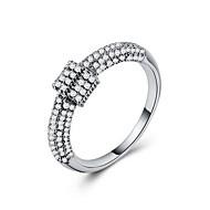 Χαμηλού Κόστους -Γυναικεία Cubic Zirconia Πεπαλαιωμένο Στυλ Band Ring Δαχτυλίδι Eternity Ring Χαλκός Επιχρυσωμένο Με Επίστρωση Ροζ Χρυσού Στυλάτο Πολυτέλεια Βίντατζ Ευρωπαϊκό Μοντέρνο Μοδάτο Δαχτυλίδι Κοσμήματα