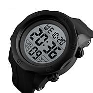 Χαμηλού Κόστους -SKMEI Ανδρικά Ψηφιακό ρολόι Ψηφιακό σιλικόνη Μαύρο / Πράσινο 50 m Ανθεκτικό στο Νερό Ημερολόγιο Χρονόμετρο Ψηφιακό Κλασσικό Μοντέρνα - Μαύρο Πράσινο
