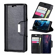 cheap -Nillkin Case For Huawei P20 / P20 Pro Wallet / Card Holder / Shockproof Full Body Cases Solid Colored Hard PU Leather for Huawei P20 / Huawei P20 Pro / Huawei P20 lite