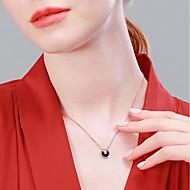 お買い得  -女性用 ネックレス S925スターリングシルバー ローズゴールド 40+3 cm ネックレス ジュエリー 1個 用途 贈り物 日常