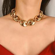 Χαμηλού Κόστους -Γυναικεία Κολιέ Τσόκερ Κρεμαστό Χρυσό Ασημί 31 cm Κολιέ Κοσμήματα 1pc Για Δώρο Βραδινό Πάρτυ Γενέθλια Φεστιβάλ