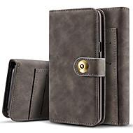 halpa -Etui Käyttötarkoitus Samsung Galaxy Note 9 / Note 8 Korttikotelo / Flip / Magneetti Suojakuori Yhtenäinen Kova PU-nahka varten Note 9 / Note 8