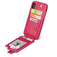 levne -Carcasă Pro Apple iPhone XS / iPhone XS Max Pouzdro na karty Zadní kryt Jednobarevné Měkké TPU pro iPhone X / iPhone 8 Plus / iPhone 8
