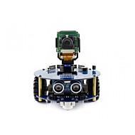 お買い得  -wavehareアルファボット2-pizero wh(en)アルファボット2ラズベリー・パイ・ゼロ・ホワット用ロボット構築キット(内蔵Wi-Fiプリ・ハンダ付けヘッダー)